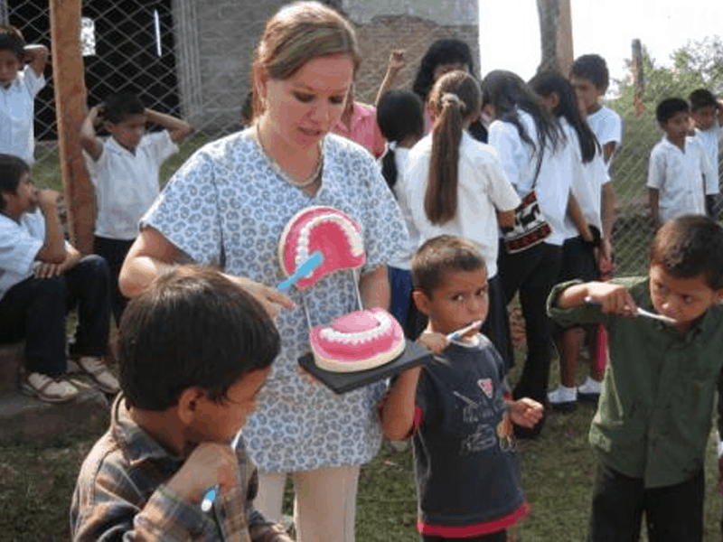 Dr. Relle serves in Honduras with CAMO
